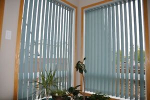 vertical blinds with tracks