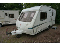 SUPERB 2006 ABBEY GTS 215 LUXURY 2 BERTH CARAVAN - END WASHROOM - MOTOR MOVER