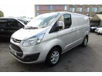 2013 FORD TRANSIT CUSTOM 290 LIMITED L1 125 SWB IN METALLIC SILVER WITH AIR COND