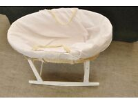 Xmas SALE NOW ON!! Moses Crib / Basket With Stand - Can Deliver For £19