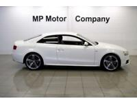 2011 11 AUDI A5 2.0 TDI S LINE BLACK EDITION 168 BHP 2DR 6SP DIESEL COUPE, WHITE