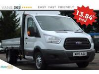 Ford Transit 13.84FT BED ONE STOP ALLOY BODY 350 SINGLE CAB 125 BHP
