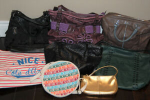 Guess, Gap, Benetton, Nine West Handbags ALL for $45