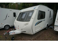 2008 STERLING ECCLES TOPAZ 2 BERTH LUXURY CARAVAN - END WASHROOM - MOTOR MOVER