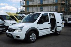 2013 FORD TRANSIT CONNECT T220 TREND 5 SEATER COMBI CREW VAN WITH AIR CONDITIONI
