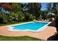 Central algarve Portugal villa for rent