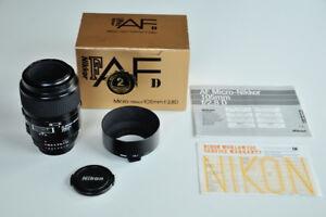 Objectif Nikon 105mm f/2.8D AF Micro-Nikkor
