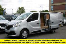 2015 RENAULT TRAFIC SL27 BUSINESS PLUS 120 ENERGY DCI SWB L1H1 DIESEL VAN IN SIL