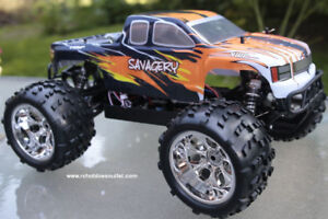 New RC Truck Brushless Electric TOP 2, LIPO 1/8 Scale, RTR 4WD