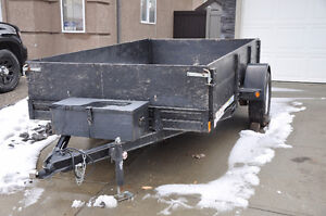 6x10 Rainbow Excursion Utility Trailer with loading ramps