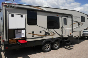 2014 Caparral 5th wheel located  Pigeon Lake golf Course