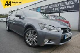 2012 LEXUS GS 450H LUXURY 3.5 PETROL / ELECTRIC HYBRID 4 DOOR AUTOMATIC SALOON H