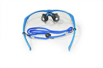 Upgrade Blue Medical Dental Surgical Medical Binocular Loupes 3.5x 420mm Glasses