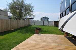 LEASE lot AVAILABLE in JOUSSARD AB - VIEW of Slave Lake!
