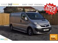 Vauxhall Vivaro SPORTIVE MODEL AIR CON ALLOYS SIDE STEPS TOW BAR ROOF RAILS