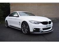 2014 14 BMW 4 SERIES 2.0 420D M SPORT 2D AUTO 181 BHP M-PERFORMANCE DIESEL