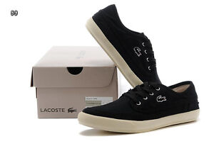 Brand New Lacoste Men Sneakers Canvas Shoes Size 10US