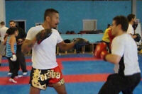 Always wanted to try kickboxing? First class is free!