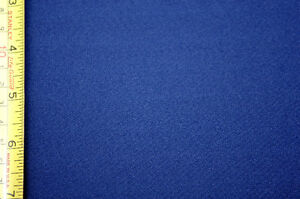 New navy blue polyester / Spandex knit fabric 1.3 m x 61 inches
