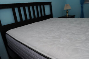 Sealy Queen Mattress and Box Frame