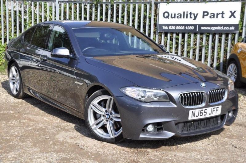 2015 BMW 5 Series 3.0 530d M Sport Auto 4dr
