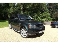 2010 Land Rover Range Rover Sport 3.0 TDV6 HSE AUTO FLRSH 1 OWNER SAT NAV CAMERA