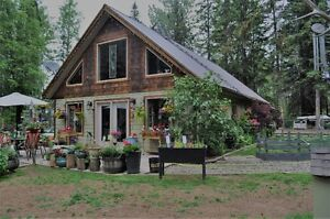 Beautiful Home on Rare 2 Acre Lot in Sunny Telkwa
