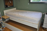 Twin Trundel Bed and Mattress