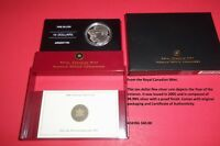 "2005 RCM ""Year of the Veteran"" $10 Fine Silver Coin"