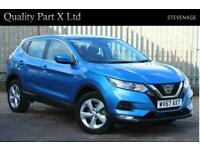 2017 Nissan Qashqai 1.2 DIG-T Acenta XTRON (s/s) 5dr Auto SUV Petrol Automatic