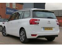 CITROEN C4 PICASSO 1.6 GRAND BLUEHDI EXCLUSIVE DIESEL 2015 15 WHITE 7 STR