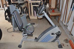 stationary exercise machine Weslo Pro 10.8x  new price 140.00