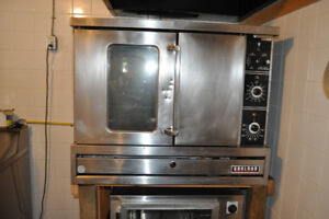 Garland  full size oven (propane) and full size Proofer for sale