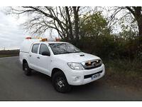 2016 16 Toyota Hilux 2.5 D-4D HL2 DIESEL DOUBLE CAB PICK UP 4X4 90K FSH 1 OWNER