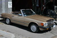 1987 560SL Classic! Watch|Share |Print|Report Ad