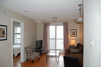 AVAIL IMMEDIATELY - FURNISHED DOWNTOWN CONDO