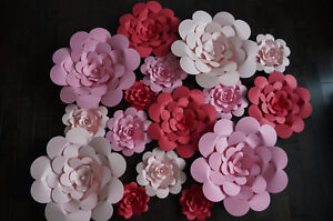Giant Paper Flower for Wedding Backdrop and Decor