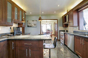 Granite Counter - Blue Pearl with double Sink for Sale - $1100 West Island Greater Montréal image 4