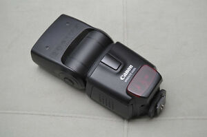 Canon Speedlight 430 ex flash
