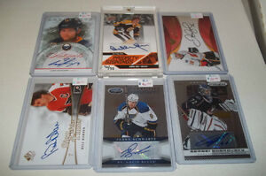 Autograph Cards !! BAP,ITG,Upper Deck,OPC Individually Priced !!