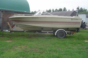 PARTING OUT 1979 LARSON BOAT OMC V8 200 HP STERN DRIVE