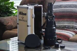 EXCELLENT - NIKON ED AF 300mm 2.8 WITH 2X TELECONVERTER FOR SALE