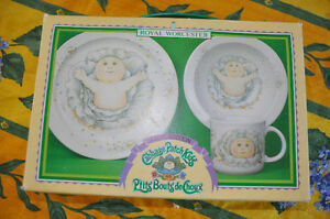 1st Edition Cabbage Patch Dishes Made in England 1984 Peterborough Peterborough Area image 3