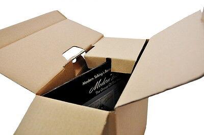 """50 DHL Post Warensendung musictools Versandkarton für LP 12"""" Vinyl Schallplatten"""