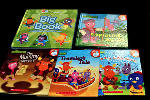 Lot Hardcover BACKYARDIGANS Children Picture Story Books