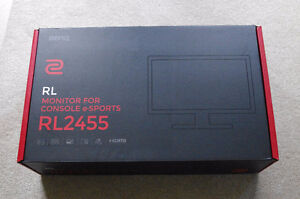 BenQ (Zowie) RL2455 24 inch 1 ms Gaming Monitor.