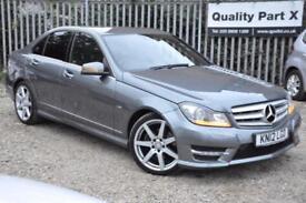 2012 Mercedes-Benz C Class 2.1 C220 CDI BlueEFFICIENCY Sport 7G-Tronic 4dr
