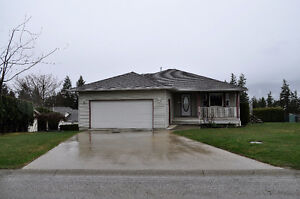 Salmon Arm 5 Bedroom Rancher with Walk Out Basement