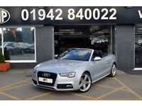 2014 14 AUDI A5 2.0 TDI S LINE SPECIAL EDITION 2D 175 BHP DIESEL S/S CONVERTIBLE