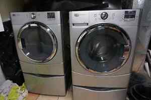 Aylmer. Maytag commercial washer and dryer